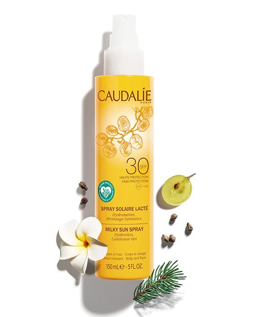 Солнцезащитное молочко-спрей для тела и лица с SPF30